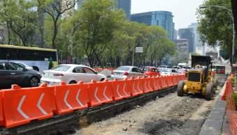 Se amplia, Suspension, Metrobus, Reforma, Ciudad de México