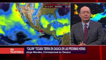 Activan alertas, emergencia, Oaxaca, Calvin