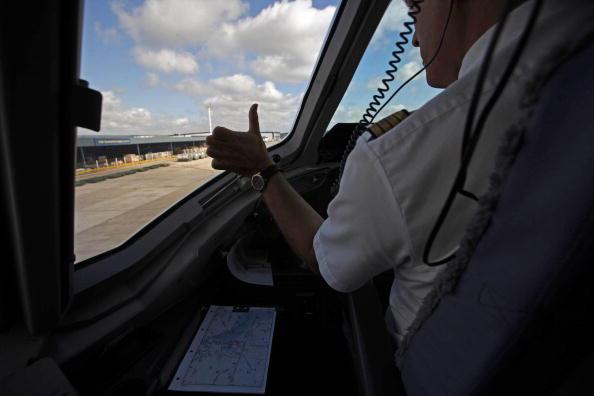 Vista del aeropuerto de buenos aires