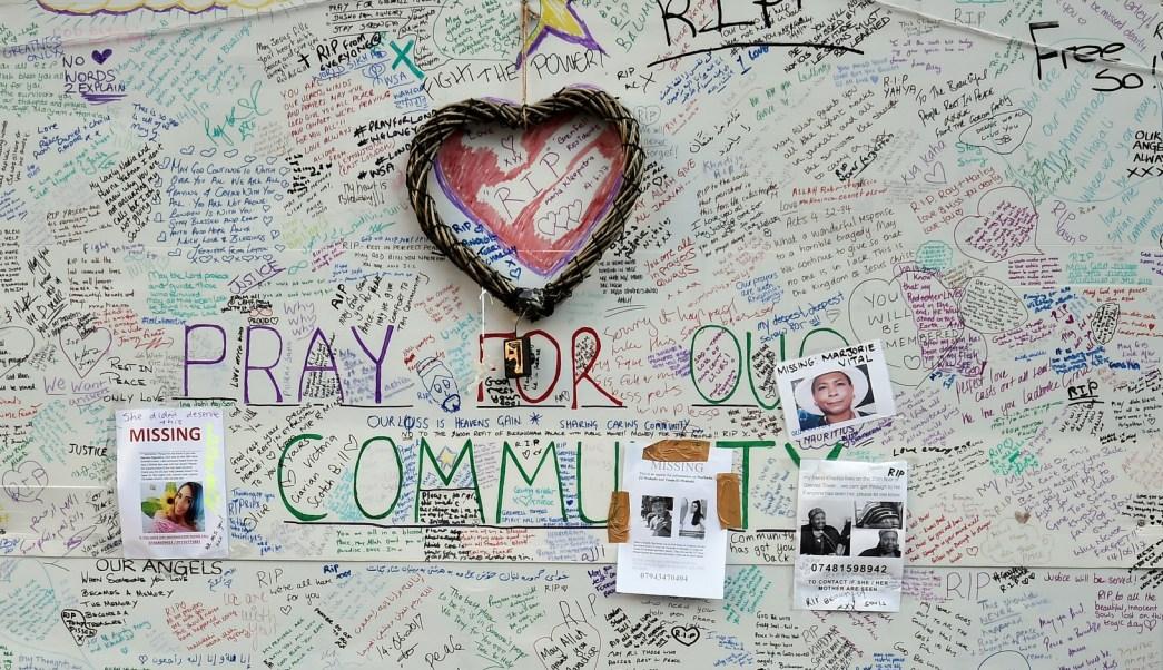 Al menos 30 personas murieron en el incendio de Londres