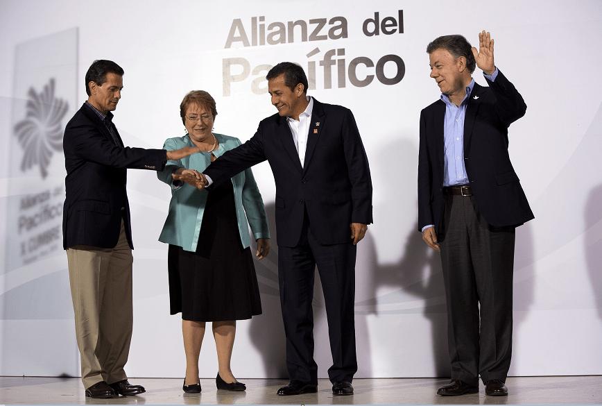 Alianza del Pacífico una plataforma abierta al mundo: Peña Nieto