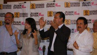 Alejandra Barrales, Juan Zepeda, PRD, elecciones, Estado de México, política