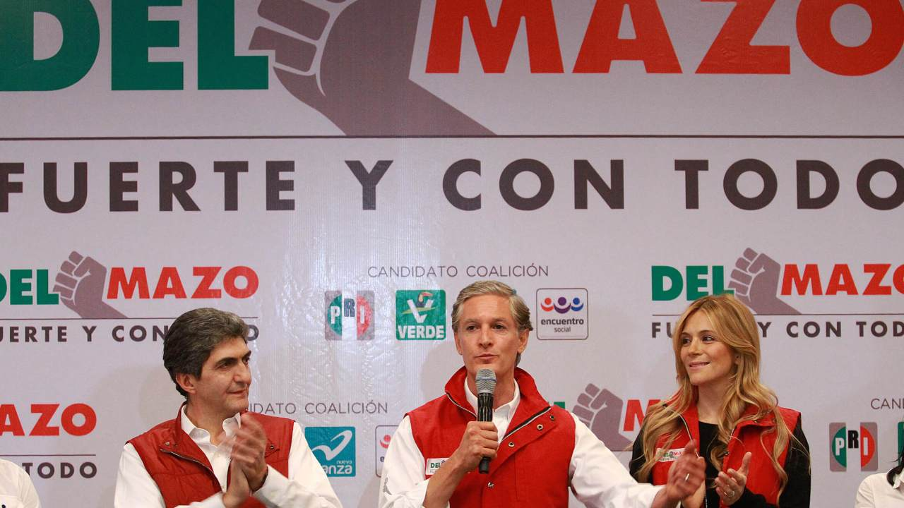 Alfredo del Mazo, candidato del PRI al Edomex