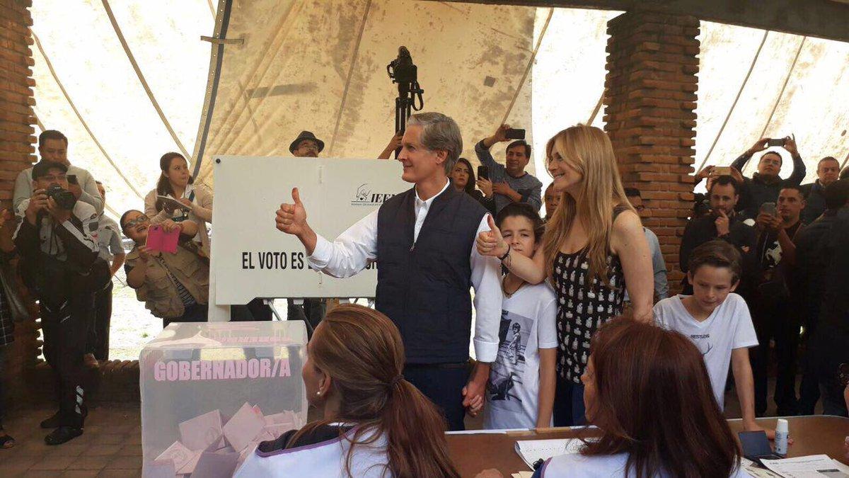 Alfredo del Mazo llama a respetar el voto y las instituciones electorales