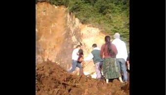 Alud en Guatemala deja al menos 11 muertos