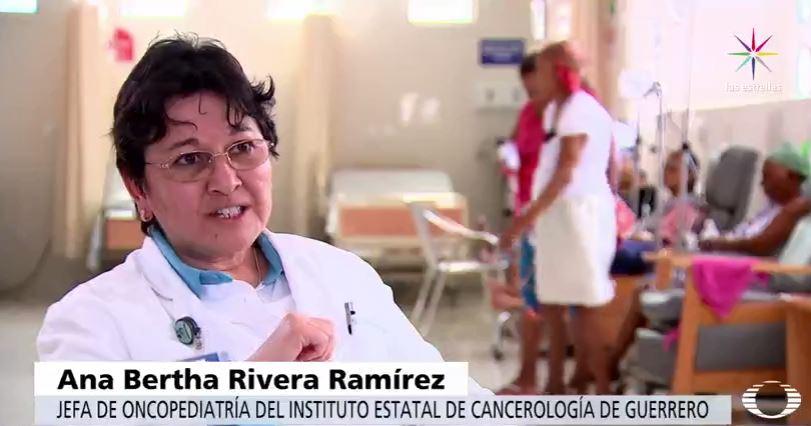 Ana Bertha Rivera, jefa de Oncopediatría del Instituto Estatal de Cancerología Guerrero
