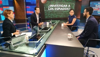Ana Ruelas y Luis Fernando García en Despierta con Loret