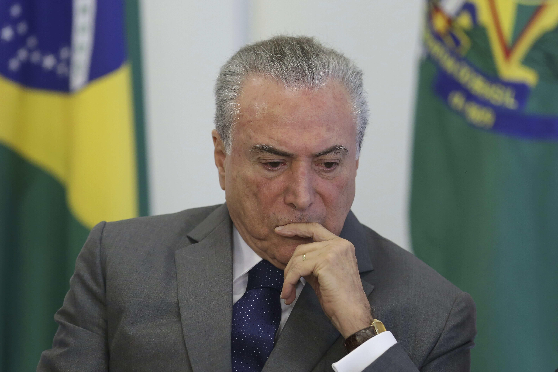 Michel Temer, expresidente de Brasil, implicado en el caso Odebrecht