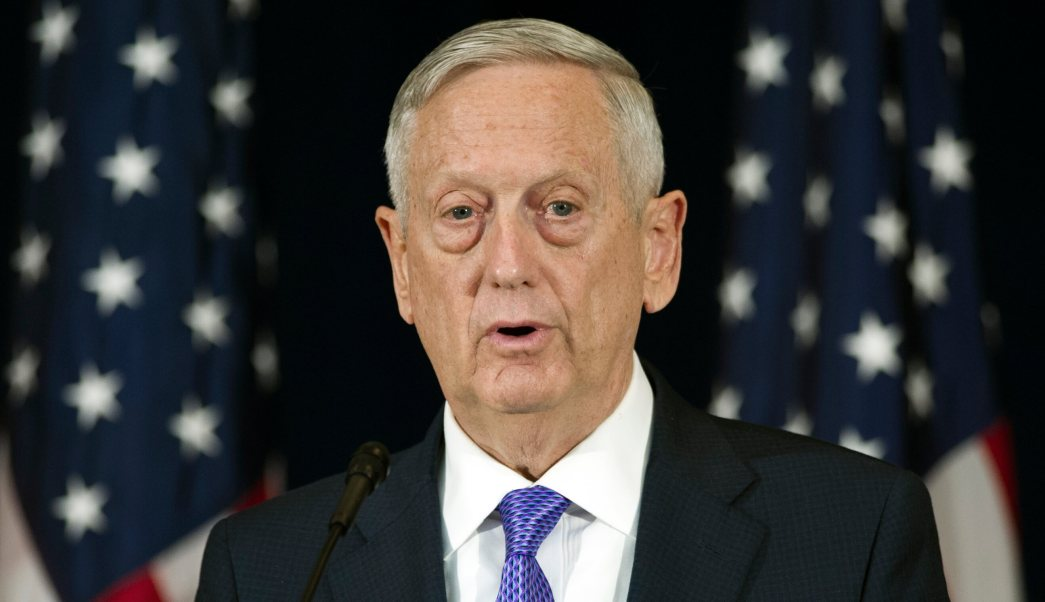 secretario de Defensa, EU, Estados Unidos, Jim Mattis, conferencia de prensa