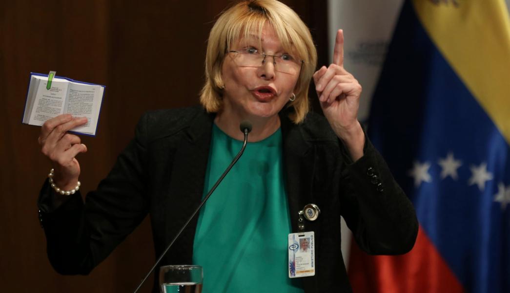 Fiscal General Venezuela Luisa Ortega Caracas