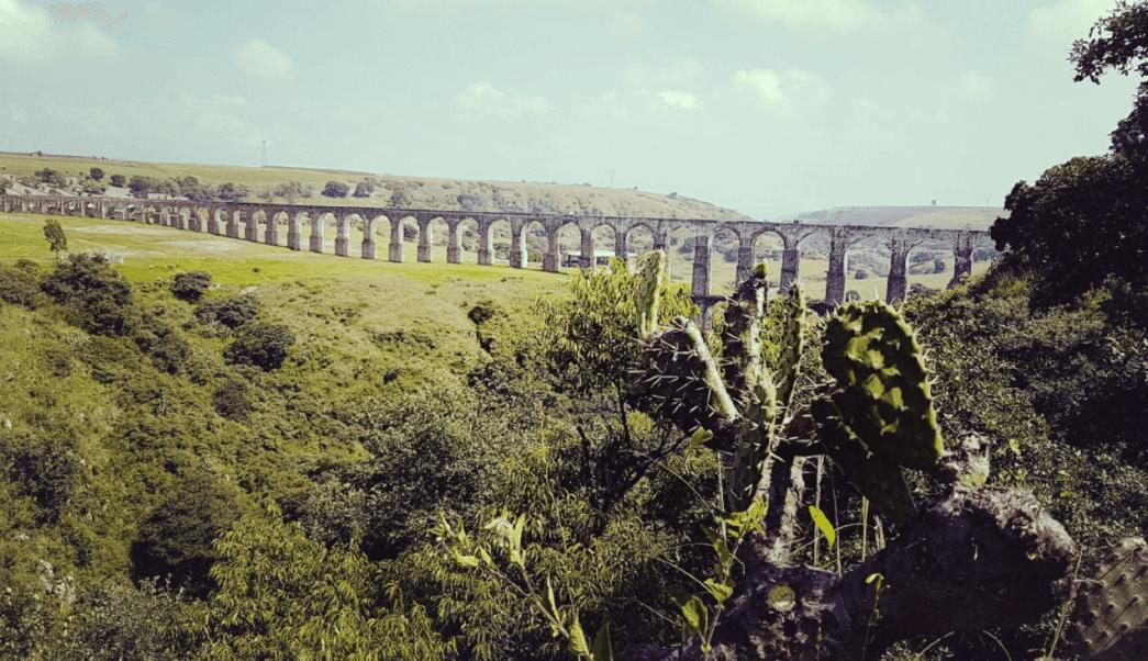 Arcos del sitio, Estado de México, acueducto,