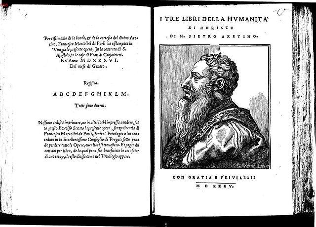 Aretino, pornógrafo del Renacimiento