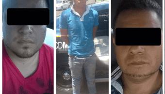 Asaltantes de banco en la GAM de la Ciudad de México