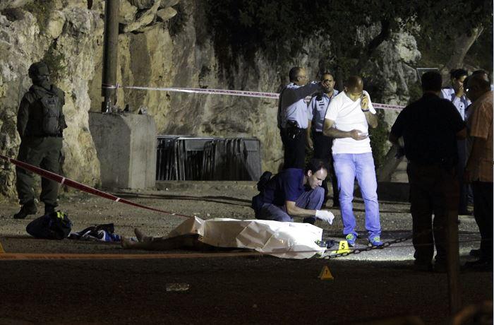 Ataque, cuchillo, israel, jerusalén, policía israelí