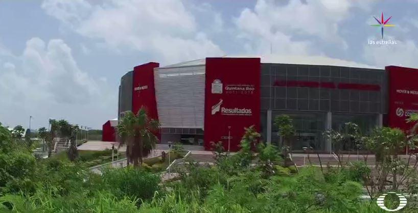 Auditorio del Bienestar de Quintana Roo, obra incompleta del gobierno de Borge