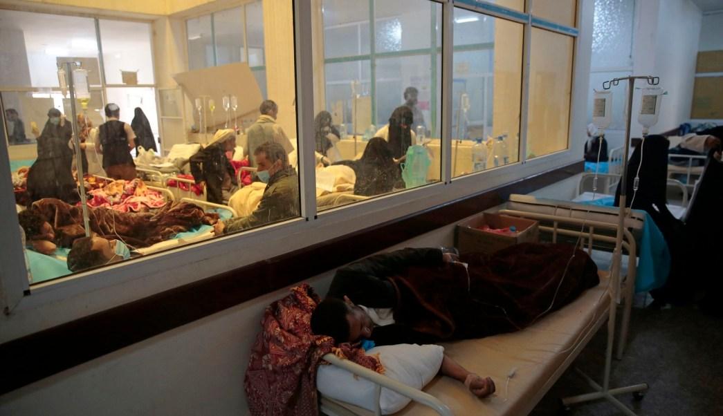 Aumentan a 570 los muertos por epidemia de cólera en Yemen