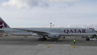 Avión Boeing 777 de Qatar Airways