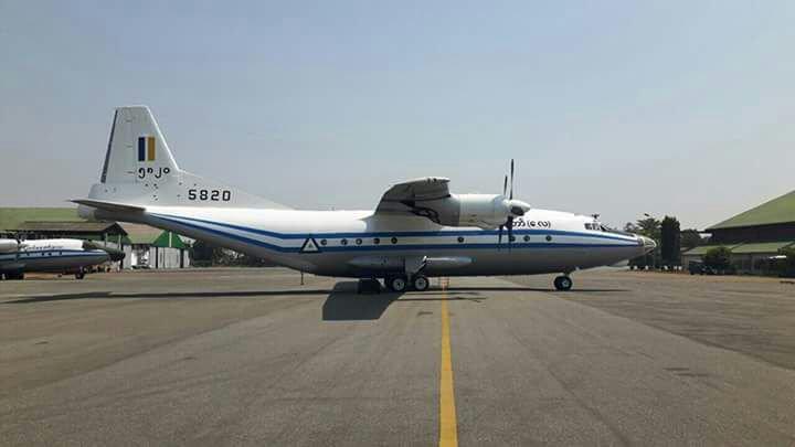 Avión militar desaparecdo en Myanmar con 104 personas