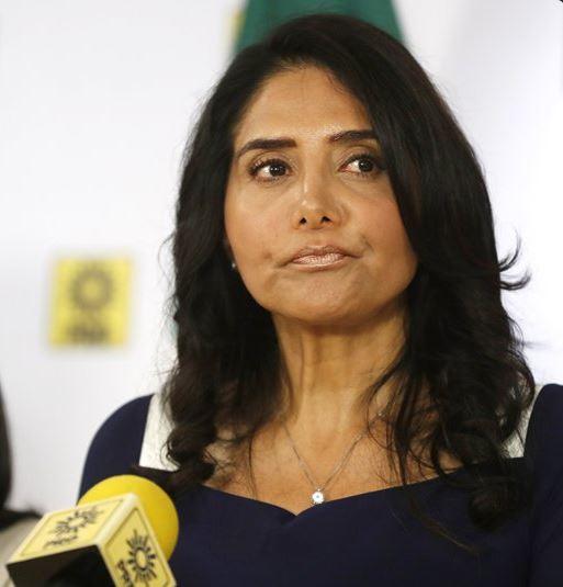 Ordena TEPJF Alejandra Barrales dejar presidencia PRD