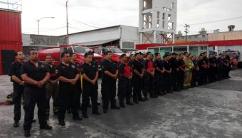 Bomberos, CDMX, Oaxaca, Salina Cruz, refinería, incendio, Pemex