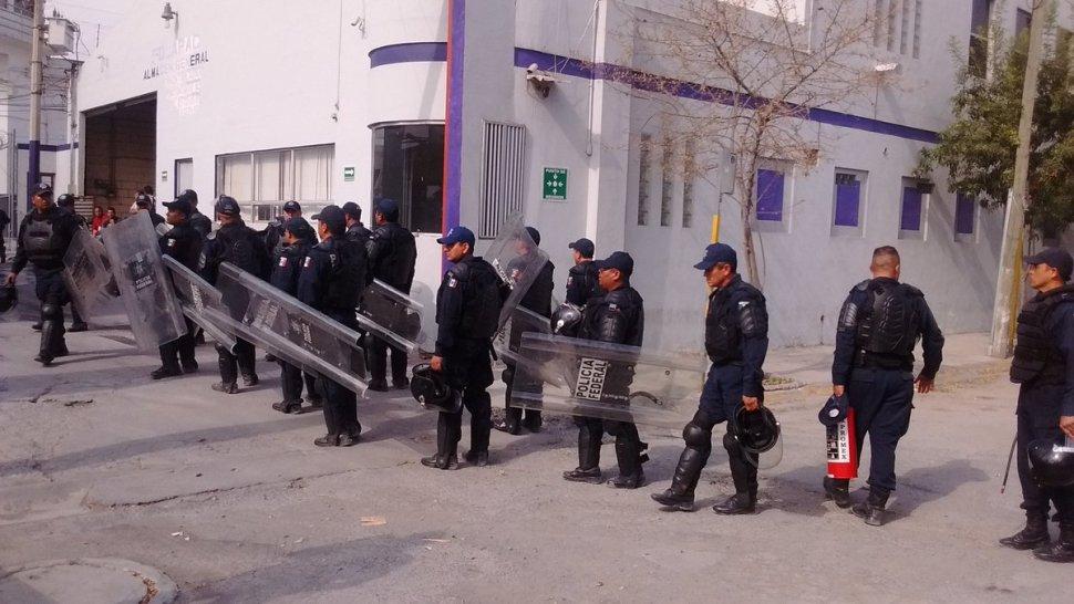 Cateo en penal de Topo Chico, Monterrey
