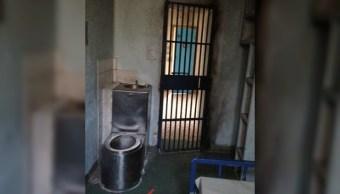 Celda de una prision para un reo