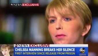Chelsea Manning concede entrevista a ABC News (Goos Morning America)