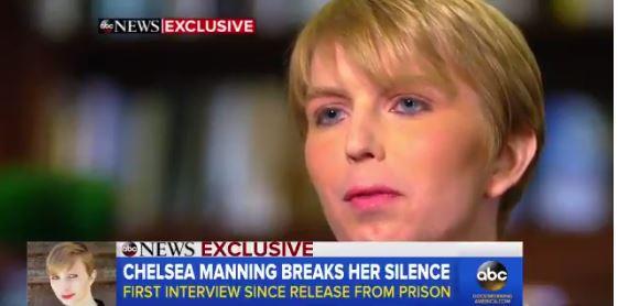 Chelsea Manning concede entrevista a ABC News (Goos Morning America)
