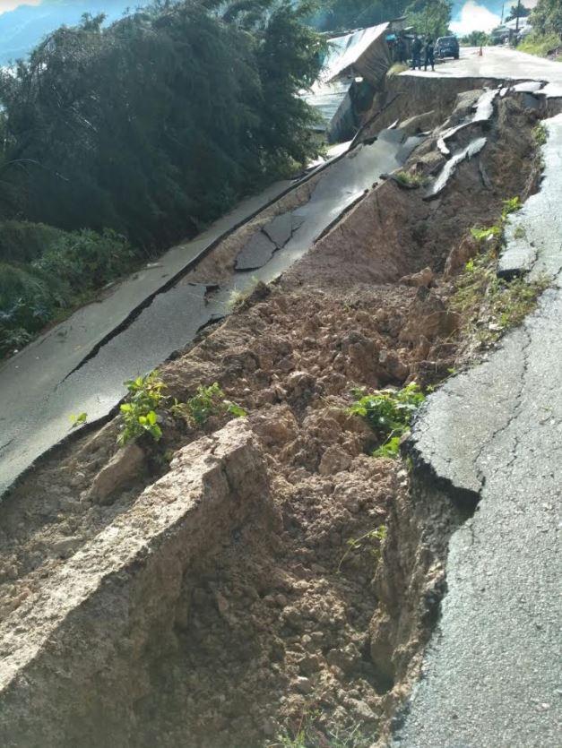 Deslizamiento, Derrumba, Viviendas, Chiapas, Lluvias, Clima, Onda Tropical
