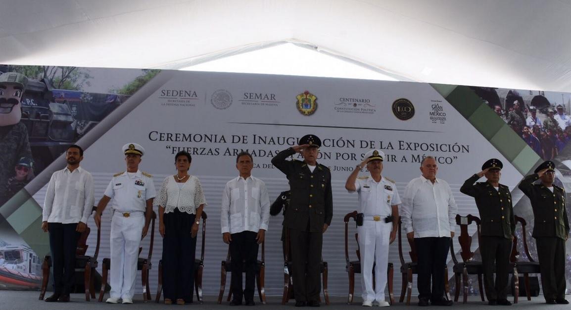 Destaca Salvador Cienfuegos resultados en materia de seguridad en Veracruz