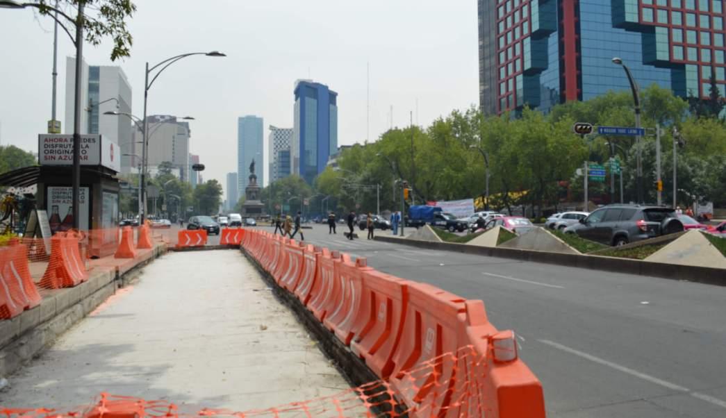 Obras de construcción de la Línea 7 del Metrobús CDMX