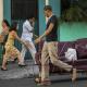 Cubanos en las calles de La Habana