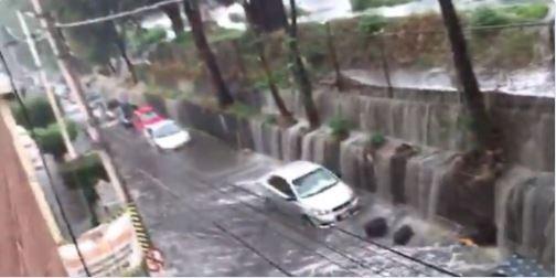 Desbordamiento, Río Hondo, Casas, Inundadas, Autos, Naucalpan, Inundaciones