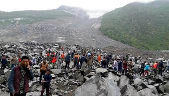 Clima, China, deslizamiento, tierra, desaparecidos, lluvia, casas