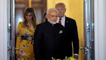 Trump, India, política, ministro, Modi, Estados Unidos,