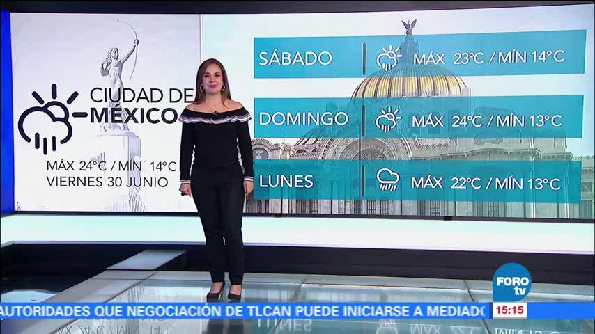 noticias, forotv, El Clima con Raquel Méndez, clima, raquel mendez, lluvias