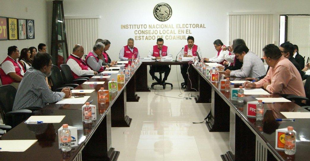 El Consejo Local del INE Coahuila se instala en Sesión Permanente