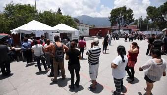 Dirigentes del PAN, PRD y PRI llaman a votar en los comicios