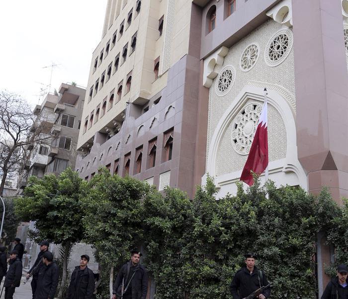 Catar, El Cairo, Egipto, Emiratos, relación diplomática, países árabes