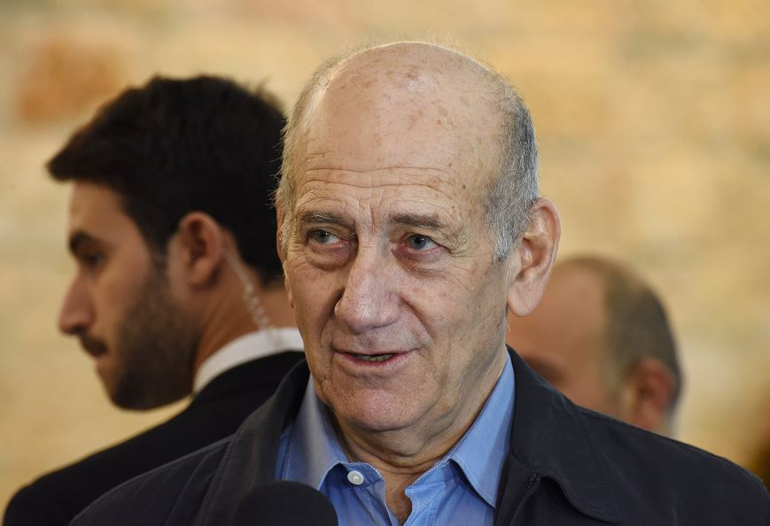 Israel, Libertad, Exprimer Ministro, Ehud Olmert, Benjamin Netanyahu, Cárcel