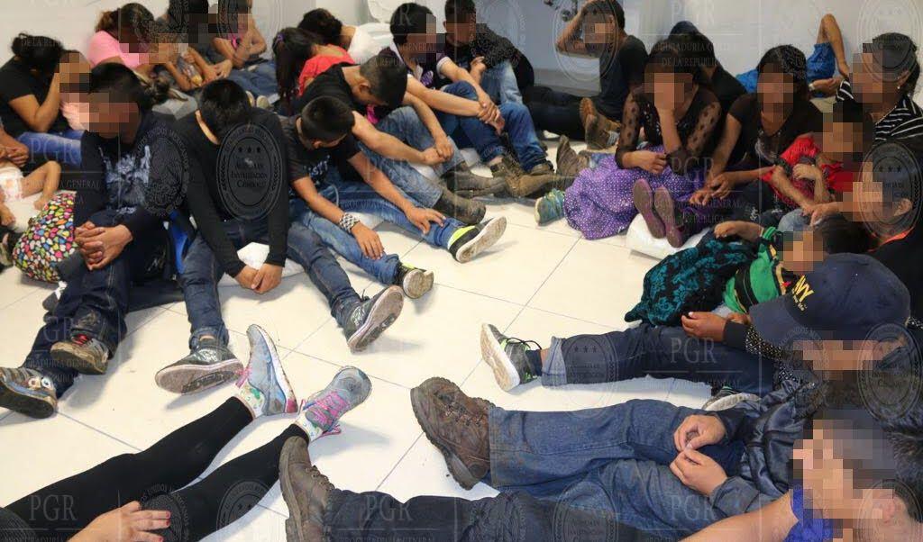 Tabasco, Rescatan A Extranjeros, Menores De Edad, Bebes, Indocumentados, Camion, Condiciones De Higiene, Municipio de Huimanguillo, Guatemala, El Salvador, Honduras