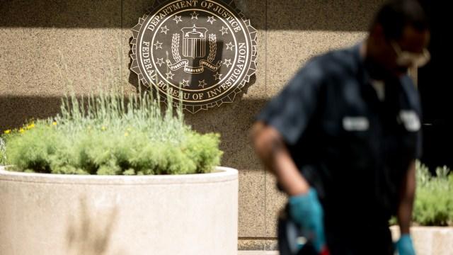 Fachada del edificio del FBI en Washington