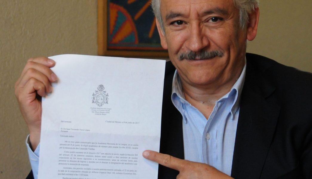 Fernando Nava López, antropólogo de la UNAM