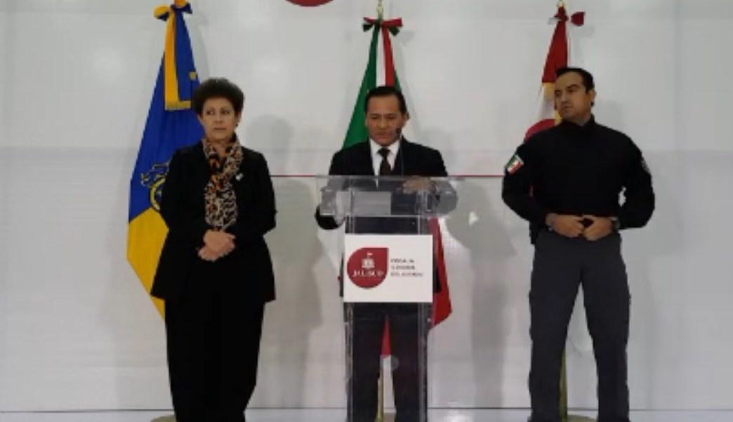 Eduardo Almaguer anuncia la detención de tres delincuentes en Tlaquepaque. (Twitter: @ealmaguerr)