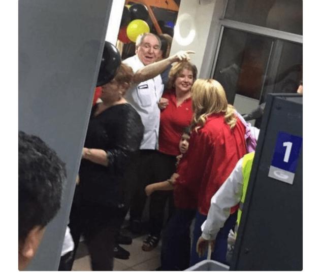Fotografías del retorno de Bucaram a Ecuador circulan en redes sociales