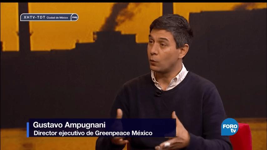 Genaro Lozano, entrevista, Gustavo, Ampugnani, director, Greenpeace