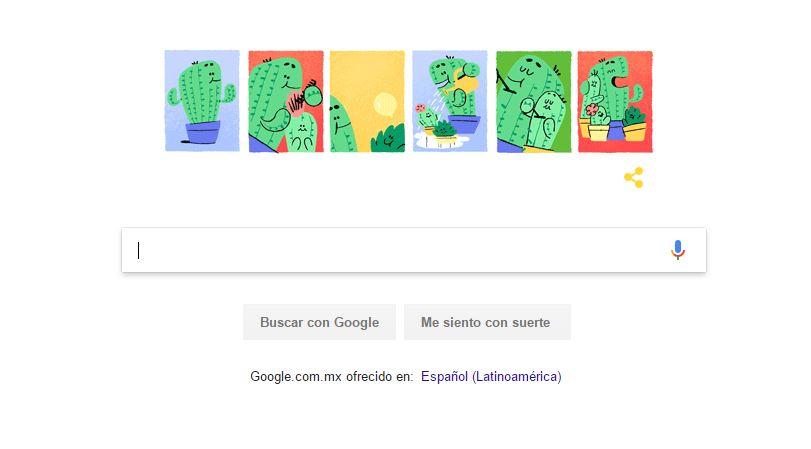 Google Celebra El Dia Del Padre, Buscador De Montain View, Doodle, Celebracion, Junio, Influencia