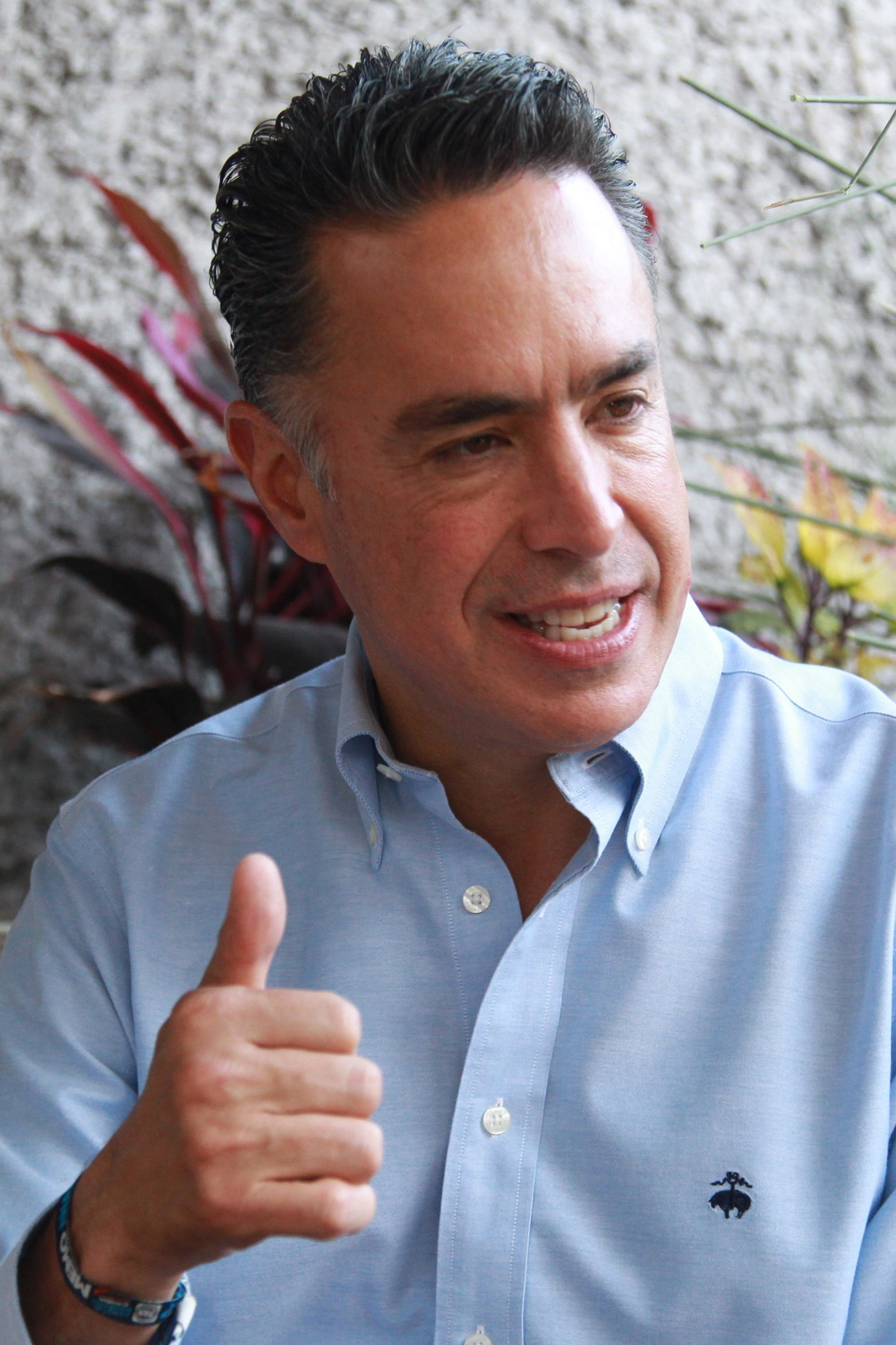 El candidato del PAN a la gubernatura de Coahuila, José Guillermo Anaya