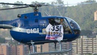 Helicóptero, granadas, crisis, Maduro, Venezuela, opositores,