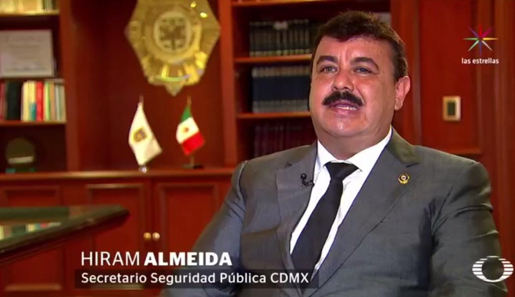 Hiram Almeida, SSP, CDMX, suicidio, seguridad, Policía